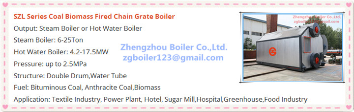 water tube chain grate boiler